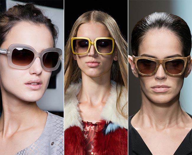 Spring/ Summer 2015 Eyewear Trends: Square Sunglasses