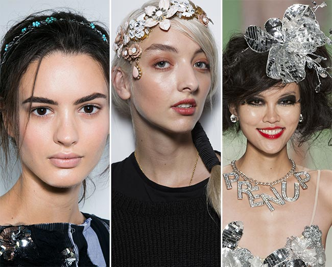 Spring/ Summer 2015 Hair Accessory Trends: Floral Headbands and Crowns