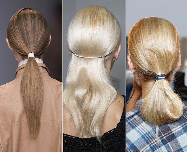 Spring/ Summer 2015 Hair Accessory Trends: Minimalist Hair Accessories