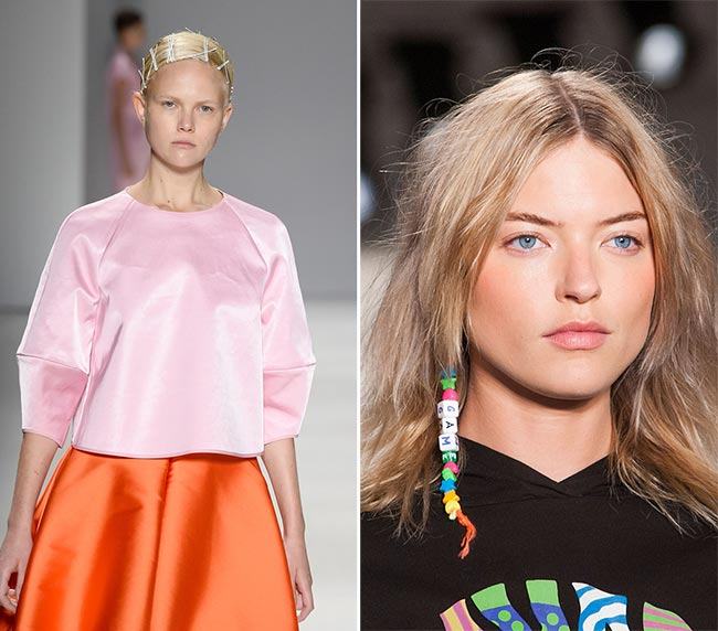 Spring/ Summer 2015 Hair Accessory Trends: Tiny Hair Accessories