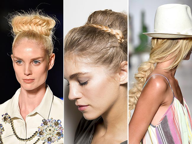 Spring/ Summer 2015 Hairstyle Trends: Braided Hairstyles