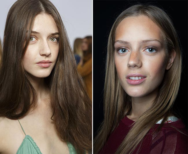 Spring/ Summer 2015 Hairstyle Trends: Straight Hairstyles