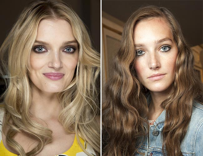Spring/ Summer 2015 Hairstyle Trends: Wavy And Curly Hairstyles