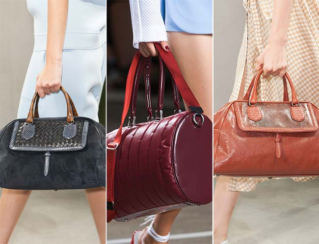 Spring/ Summer 2015 Handbag Trends: Duffel Bags