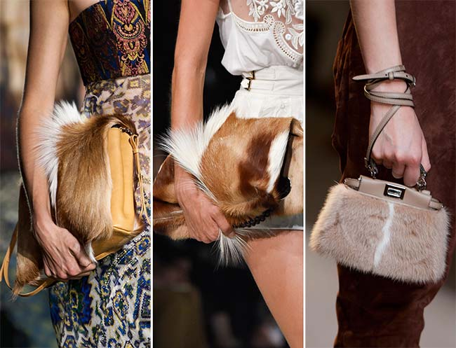 Spring/ Summer 2015 Handbag Trends: Fur Bags