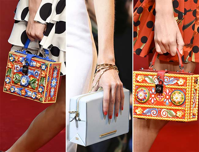Spring/ Summer 2015 Handbag Trends: Geometric Box Bags