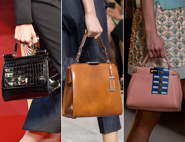 Spring/ Summer 2015 Handbag Trends: Classic and Ladylike Retro Bags