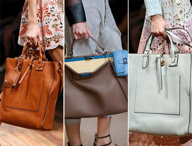 Spring/ Summer 2015 Handbag Trends: Oversized Bags