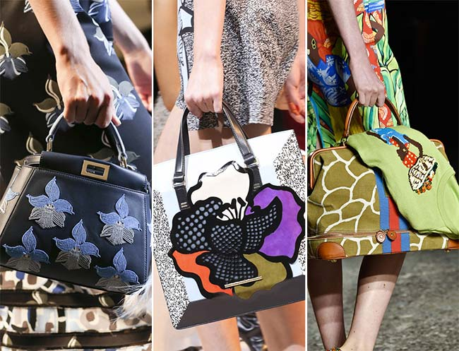 Spring/ Summer 2015 Handbag Trends: Printed Bags