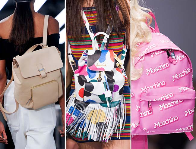 Spring/ Summer 2015 Handbag Trends: Backpacks