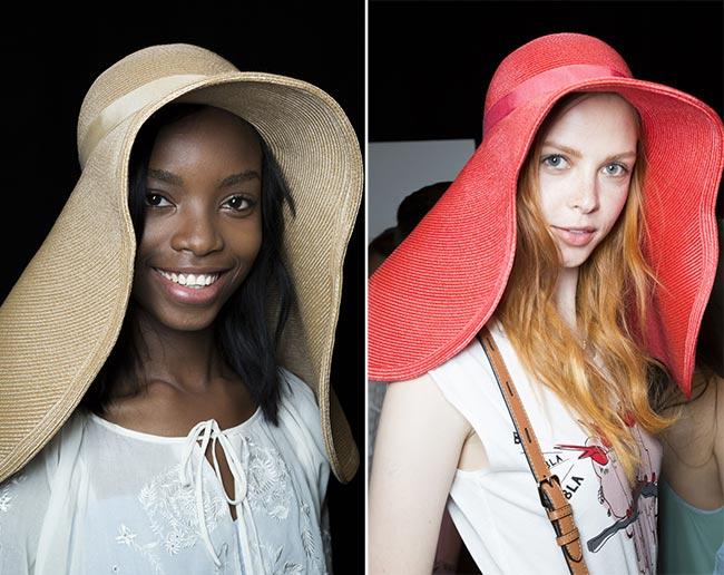 Spring/ Summer 2015 Headwear Trends: Oversized Floppy Hats