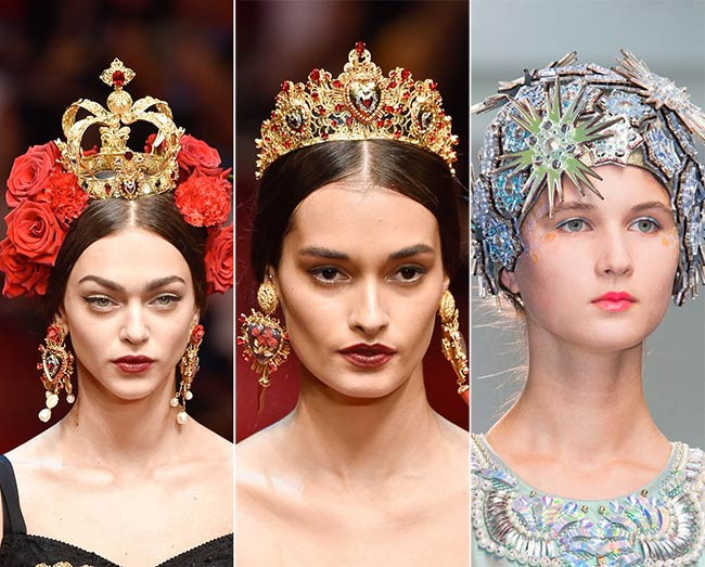 Spring/ Summer 2015 Headwear Trends: Regal Crowns and Fascinators