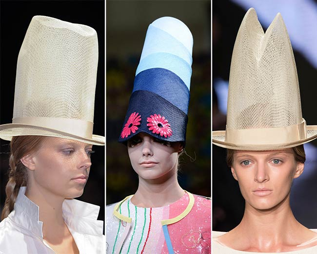 Spring/ Summer 2015 Headwear Trends: Strange and Extravagant Hats