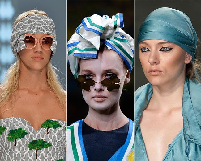 Spring/ Summer 2015 Headwear Trends: Bandanas, Turbans and Headscarves