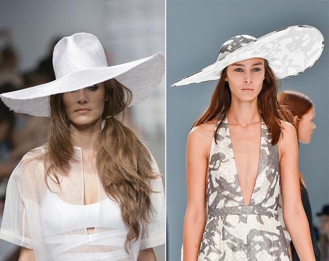 Spring/ Summer 2015 Headwear Trends: Wide-Brim Sun Hats
