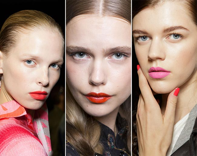 Spring/ Summer 2015 Makeup Trends: Bright Lips