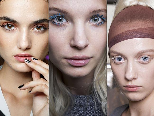 Spring/ Summer 2015 Makeup Trends: Expressive Eyelashes