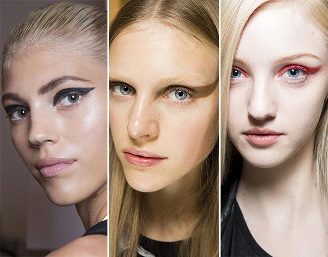 Spring/ Summer 2015 Makeup Trends: Graphic Cat Eye Swoop