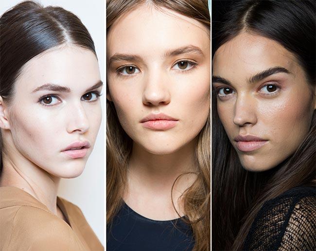 Spring/ Summer 2015 Makeup Trends: Natural No Makeup Look