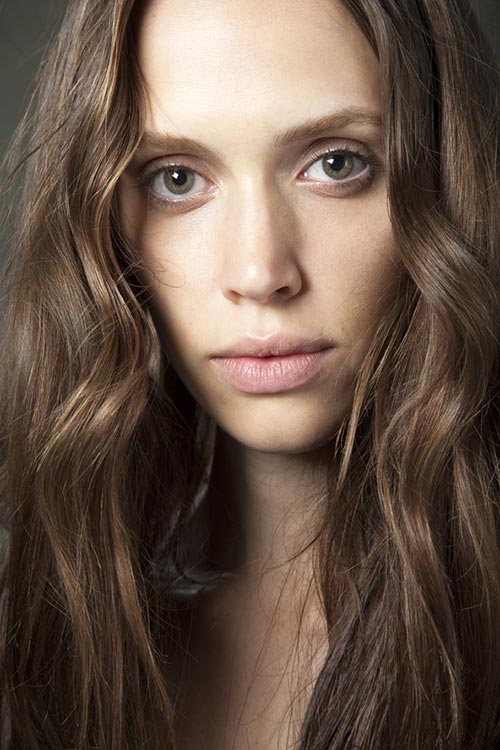 Spring/ Summer 2015 Runway Beauty Trends: Natural Looks