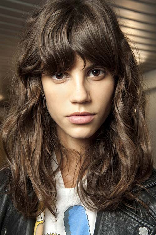 Spring/ Summer 2015 Runway Beauty Trends: Shaggy Hair