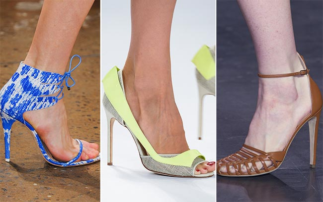 Spring/ Summer 2015 Shoe Trends: High-Heeled Shoes