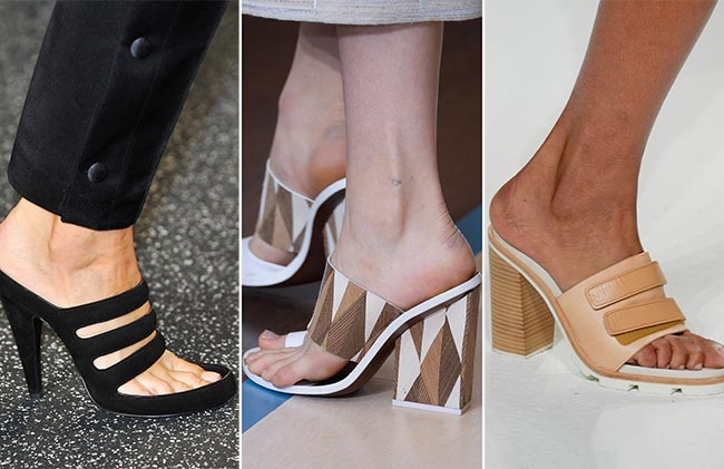 Spring/ Summer 2015 Shoe Trends: Trendy Mules
