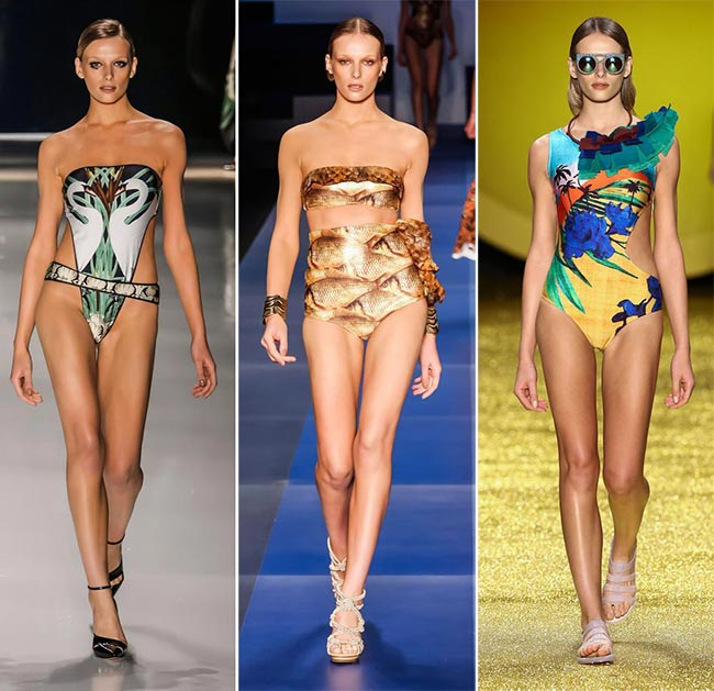 Spring  Summer 2015 Swimwear Trends  3D Printed Swimwear ec2efb217da