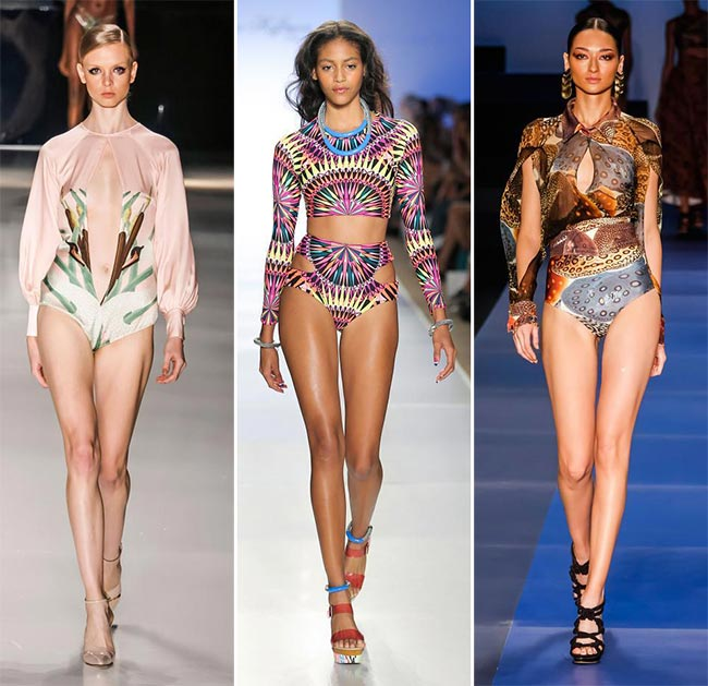 Spring/ Summer 2015 Swimwear Trends: Long-Sleeved Swimwear