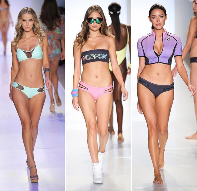 Spring/ Summer 2015 Swimwear Trends: Sporty Chic Swimwear