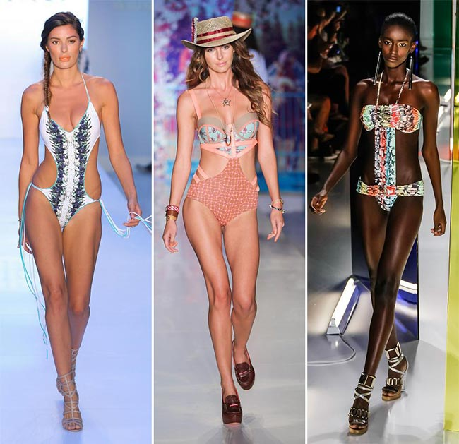 Spring/ Summer 2015 Swimwear Trends: Trinkinis