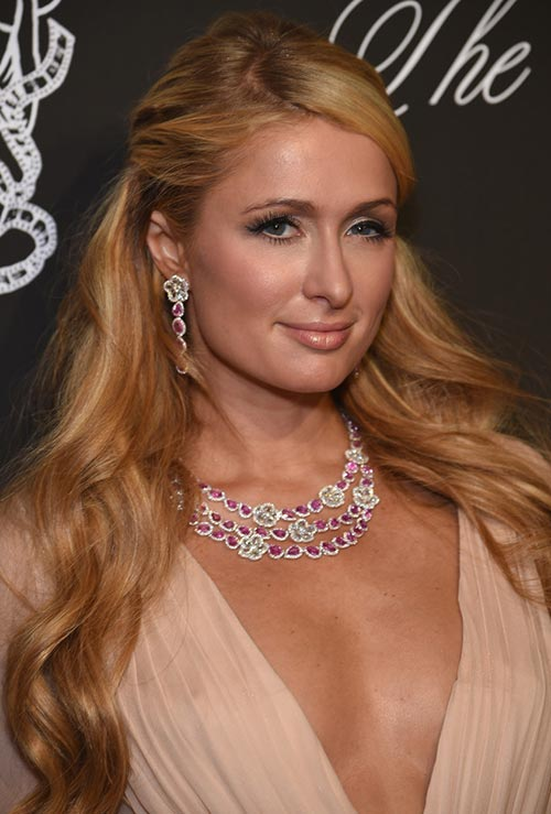 Strawberry Blonde Hair Colors: Paris Hilton