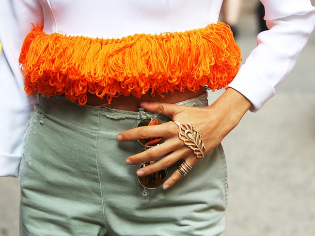 What Jewelry It Girls Wear to Spice Up Their Street Style Looks