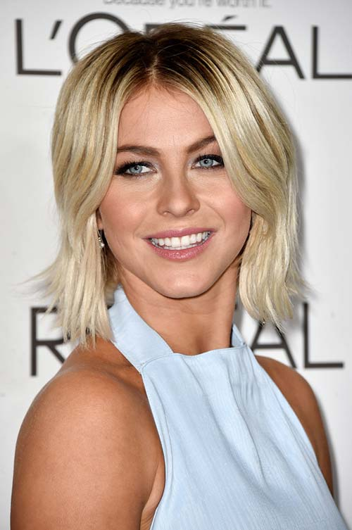 50 Stylish Ways To Wear Center Part Hairstyles Fashionisers C