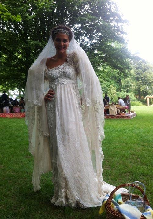 10 of the Most Unique Celebrity Wedding Dresses: Margherita Missoni
