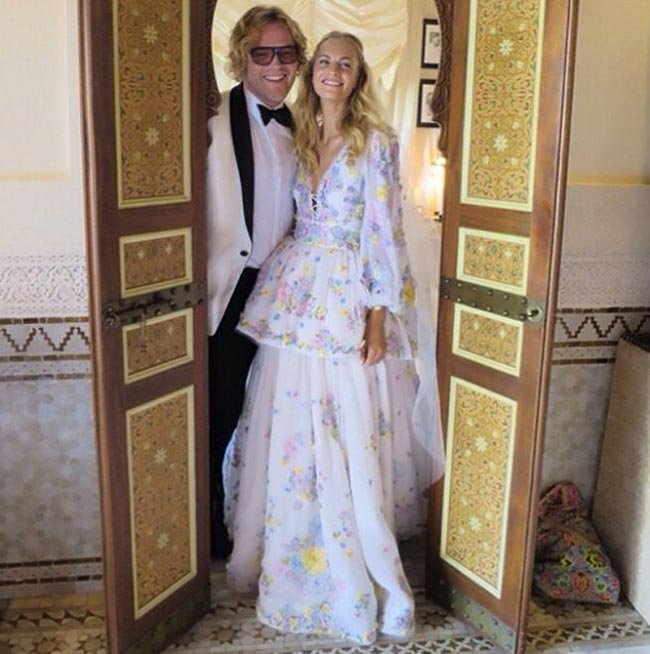 10 of the Most Unique Celebrity Wedding Dresses: Poppy Delevingne
