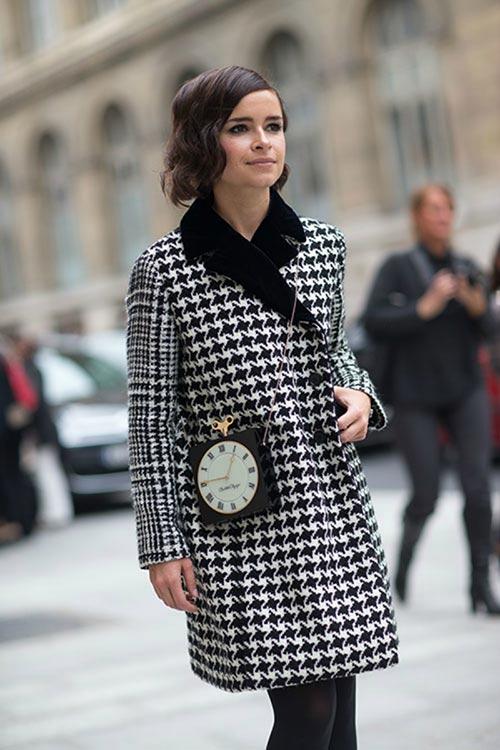 Fresh Ways to Wear Houndstooth Prints: Mira Duma