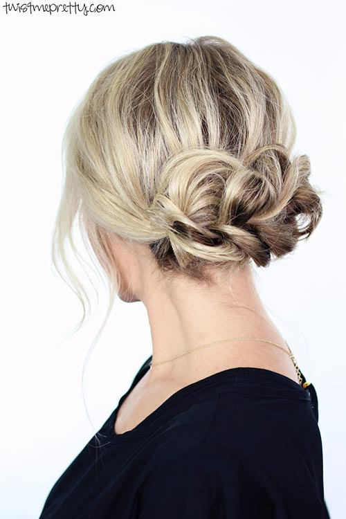 10 Gorgeous Holiday Party Hairstyles: Braided Updo