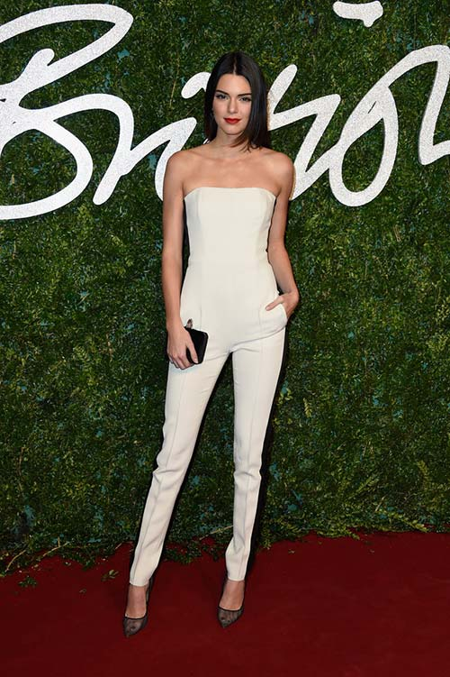 British Fashion Awards 2014 Red Carpet Fashion: Kendall Jenner