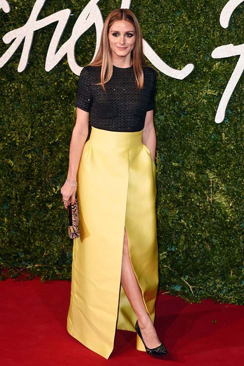 British Fashion Awards 2014 Red Carpet Fashion: Olivia Palermo