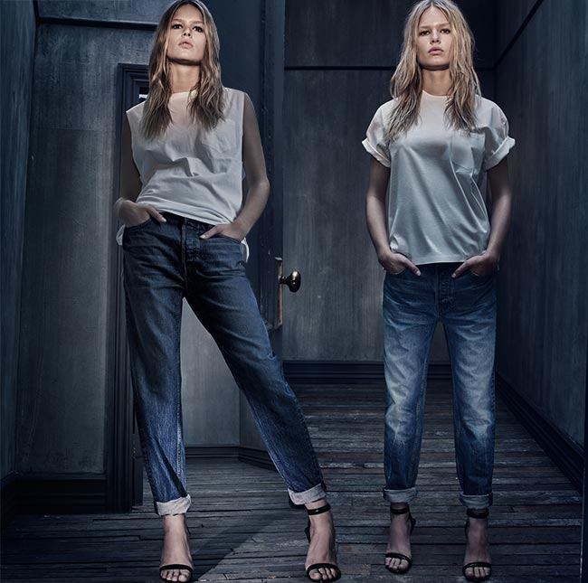 Denim x Alexander Wang Collection Lookbook