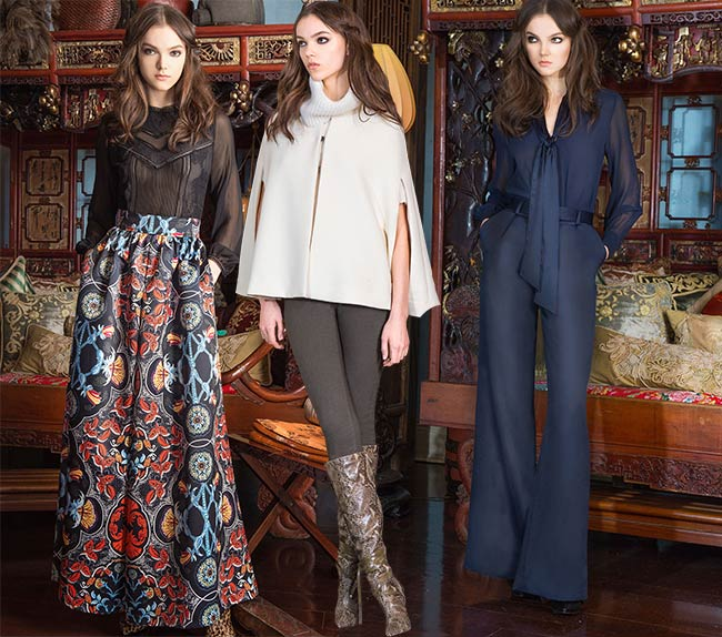 Alice + Olivia Pre-Fall 2015 Collection
