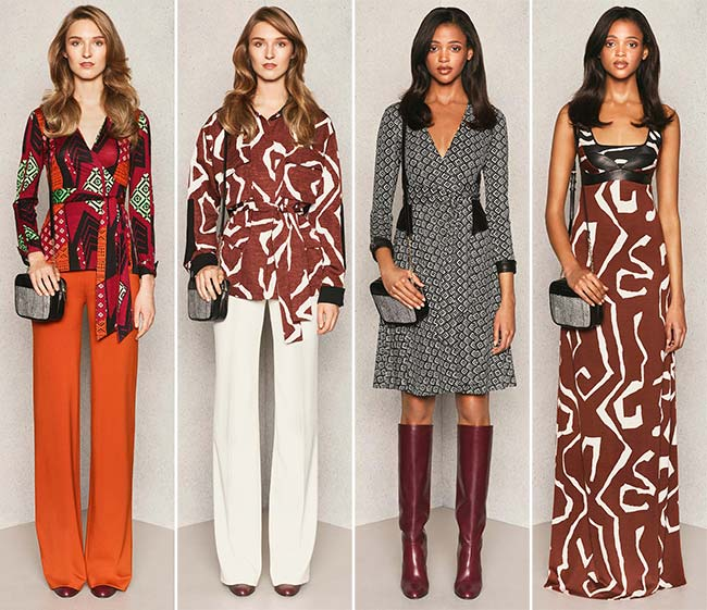 Diane von Furstenberg Pre-Fall 2015 Collection