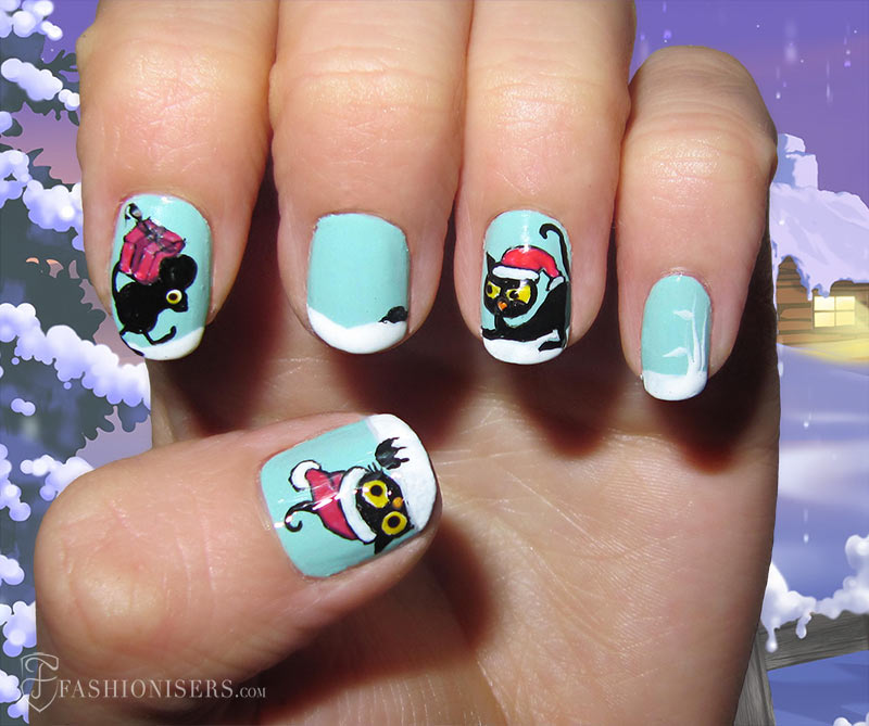 19 Unique Holiday Nail Art Designs: Christmas Nails