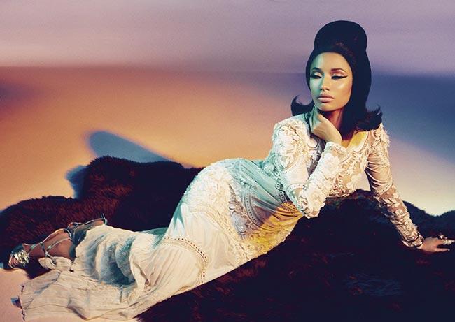 Nicki Minaj for Roberto Cavalli Spring 2015 Campaign