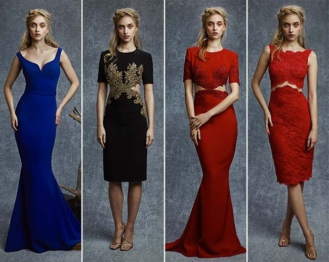 Reem Acra Pre-Fall 2015 Collection