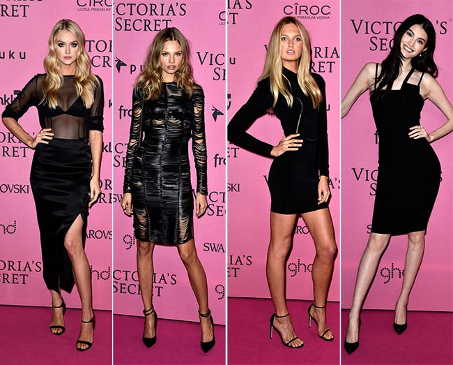 Victoria's Secret Fashion Show 2014-2015 Pink Carpet Fashion
