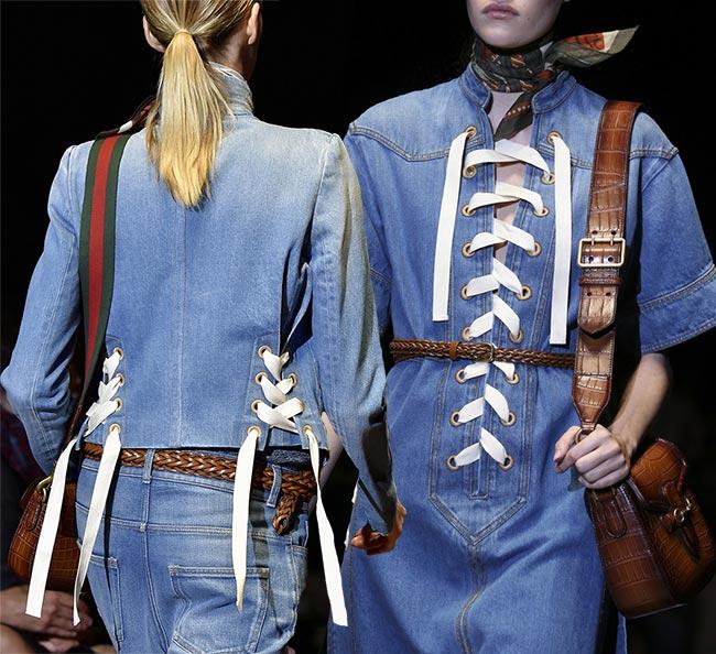 Lacing: crisscross the new spring fashion trend rare photo