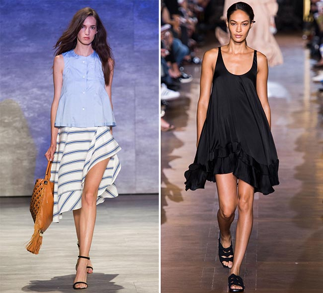 How to Wear Asymmetrical Skirts in 2015