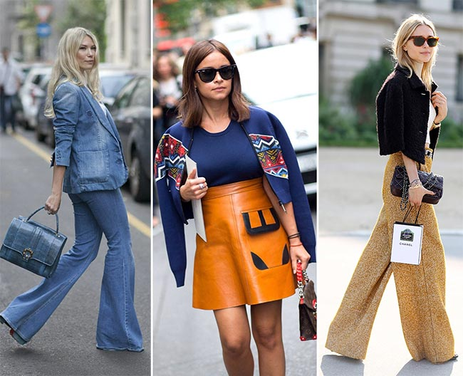 Ways of Wearing '70s Fashion Trend